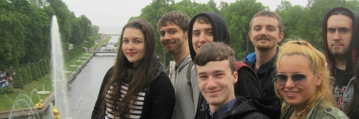 Students in St. Petersburg